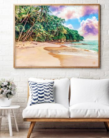 Shop Beach Now nature wildlife modern boho photography Art Print by artist Uma Gokhale 83 Oranges unique artist-designed wall art & home décor
