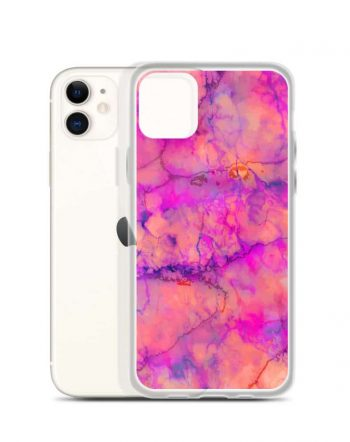 Shop The Pink Marble artist-designed iPhone 11 pro case by artist Uma Gokhale