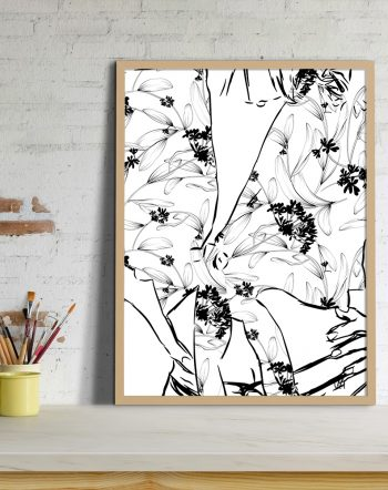 Shop by artist Uma Gokhale 83 Oranges unique artist-designed wall art & home decor