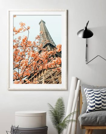 Shop Paris in Spring, France Nature Architecture, Travel Photography Art Print by artist Uma Gokhale 83 Oranges unique artist-designed wall art & home décor